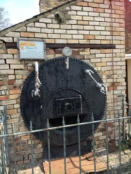 Cornish boiler, Otterburn Mill, Otterburn