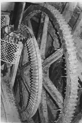 Barnham Tower Mill, Barnham, internal, spur wheel