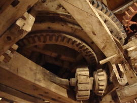 Great spur wheel and machine drive, Lowe's Mill, Thaxted