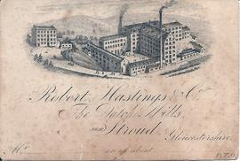 Vatch Mill visiting card