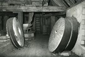 Unidentified watermill - interior with millstones