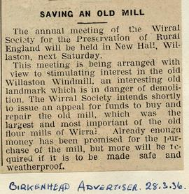 """Saving an old mill"""