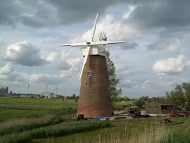 Tower mill, Hardley Marshes