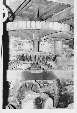Ashbury Mill , Ashbury, internal, pit wheel and wallower