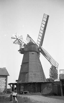 """Windmill at Earnley, Sussex"""