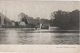 Hampshire, Fareham, Cams Mill, postcard