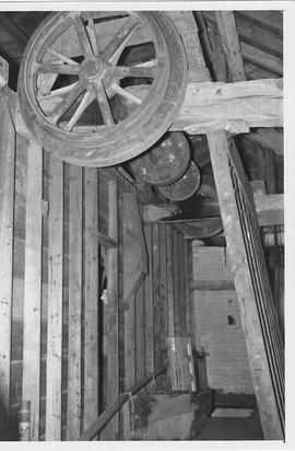 West Ashling Mill, West Ashling, internal, shafting