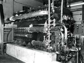 Lister Blackstone engine, Castle Mill, Beccles, Suffolk