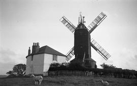 """Windmill at Icklesham, Sussex"""