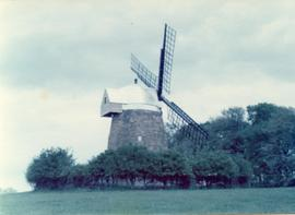 Exterior view, tower mill, Tysoe, Warwickshire