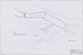 Site plan and proposed arrangement for headrace