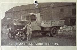 Delivery vehicle, W Marshall Whiting Works, Hessle