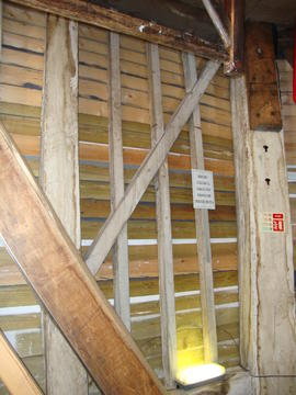 Spout floor framing, Upminster Windmill, Upminster