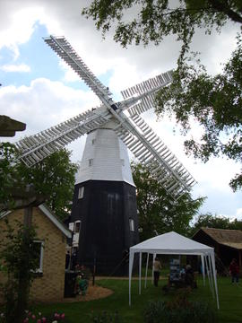 Part of flour machine drive, Impington Mill, Histon and Impington