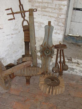 Various displaced items stored on ground floor, Impington Mill, Histon and Impington