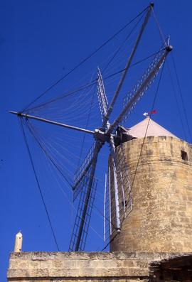 """Gozo windmill sails"""