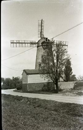 """White Roding tower mill Essex"""