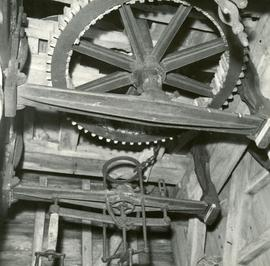Machinery in New Mill in Henfield, Sussex, England
