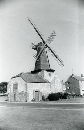 West Blatchington Windmill, Sussex, England