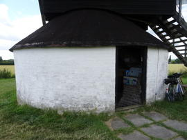Exterior view of roundhouse, Pitstone Windmill, Pitstone