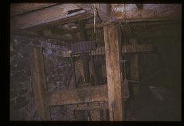 Dowrich Mill, Sandford, Devon, gears and hurst frame