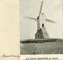 """An Essex windmill at work"""