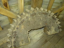 Dismantled wallower, New Mill, Rottingdean