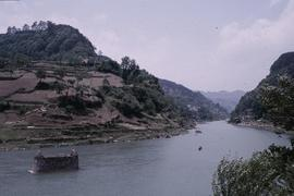 China, Kaili. River at Ping Liang.