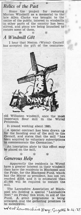 """Relics of the Past - A windmill gift"""