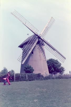 Exterior view, tower mill, Bembridge, Isle of Wight