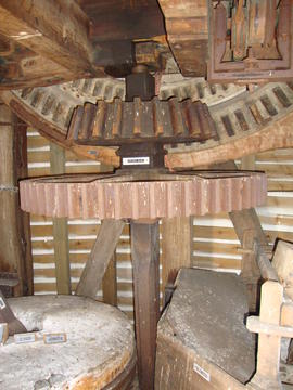 Brakewheel, head wallower etc, post mill, Ramsey