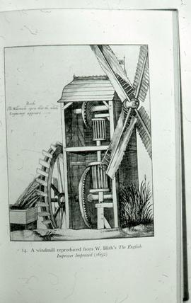 Fen Drainage Mill - drawing