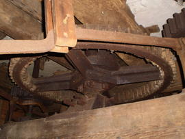 Great spur wheel, post mill, Keston