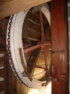 Striking wheel, post mill, Ramsey