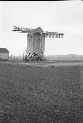 """Chillenden Post Mill, Kent"""