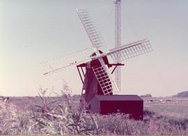 Exterior view, smock windpump, Herringfleet, Suffolk