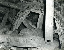 Pit wheel and shaft Bosavern Mill
