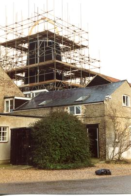 French's Mill, Chesterton, dome framework for cap restoration