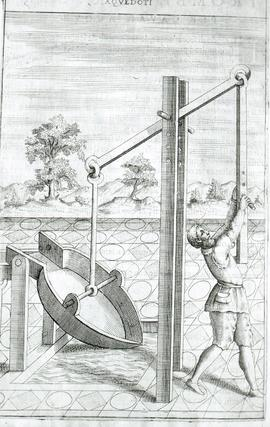"""Zonca 1607, man and water scoop"""