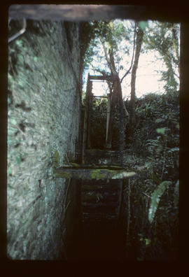Venton Mill, Dartington, Devon, waterwheel