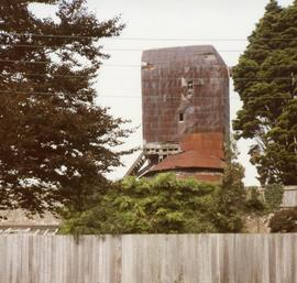Derelict post mill, Windmill Hill, Herstmonceux, Sussex
