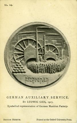 """Symbolical representation of German Munition Factory"""
