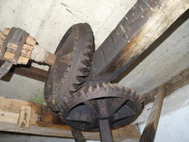 Sack hoist and water upright shaft, Combined Mill, Little Cressingham