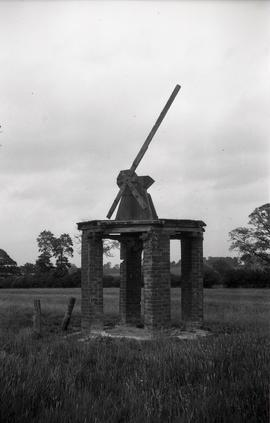 """Remains of the small windmill at Hillesden, Bucks"""