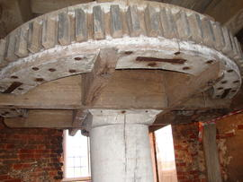 Great spur wheel, tower mill, Ullesthorpe