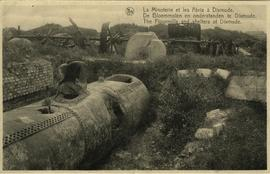 """The Flourmills and shelters at Dixmude"""