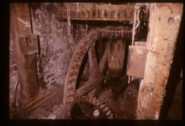 Fremington Mill, Devon, Pit wheel and layshaft gear