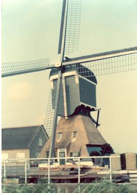 Preserved Dutch wipmolen, 1974