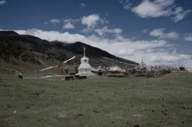 Stupa & 'Sacred Mountains'
