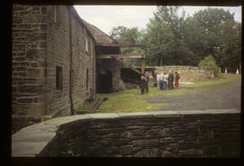 Top Forge, Wortley, Sheffield, view towards the waterwheels